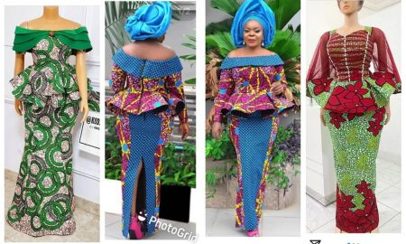 Ankara Designs For Skirt and blouse