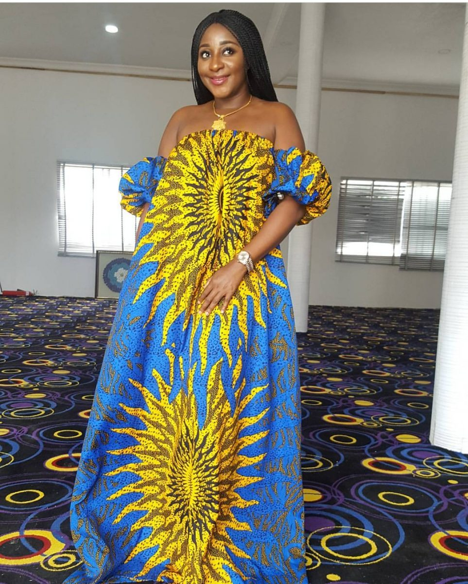 Ladies Gowns: Bubu Ankara Gowns Styles/Designs For Elegant Ladies-ANKARA