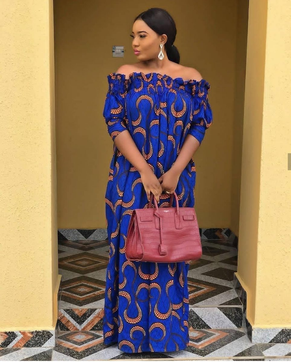 50 Trending Ankara Gowns For Ladies Who Wants To Stand Out In 2018