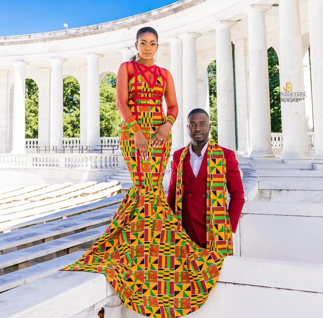 Ankara For Pre-Wedding Photos
