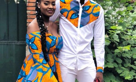 Ankara For Pre-Wedding Photos