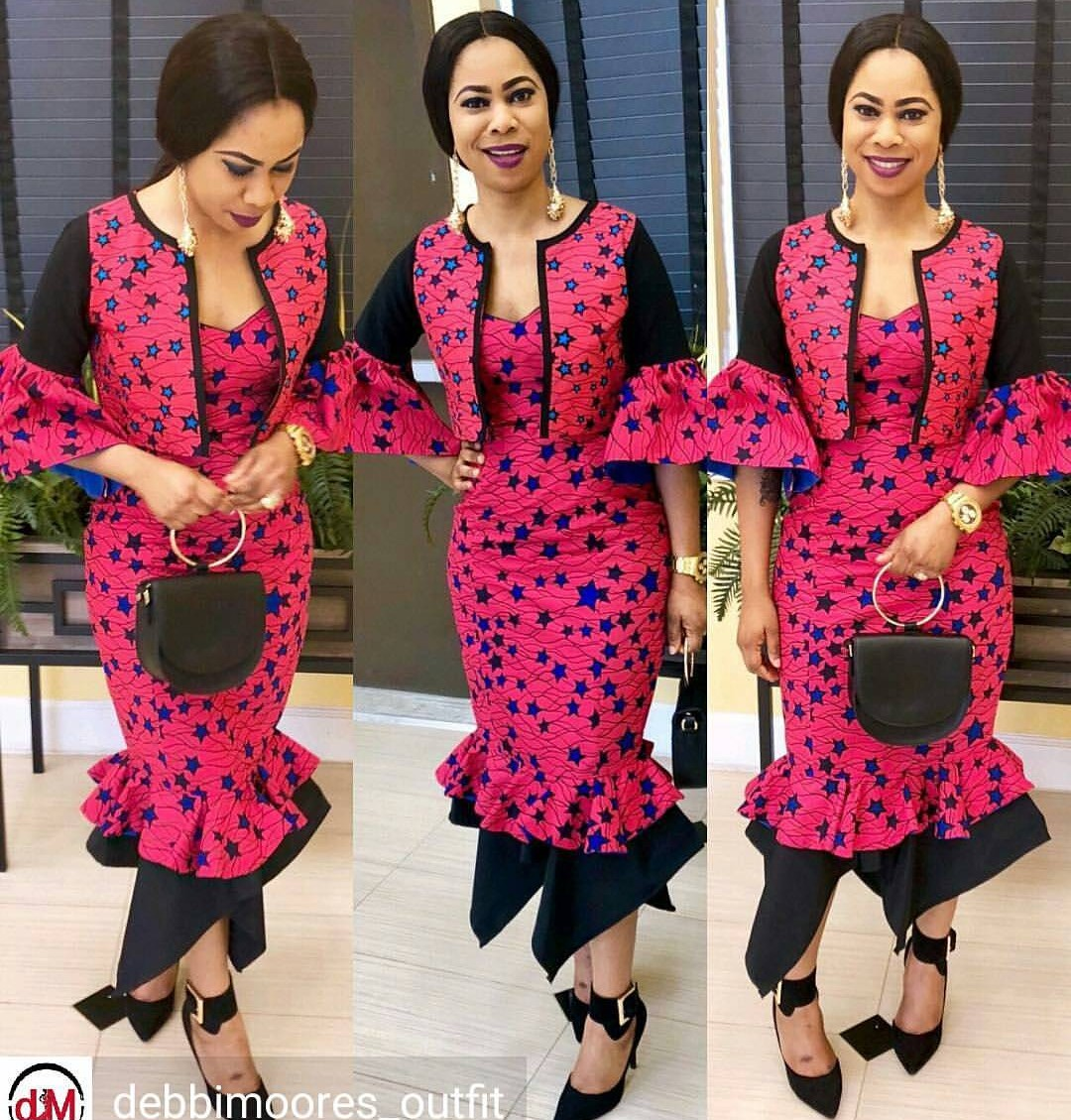 Latest Nigerian Fashion Styles For Women/Men,ANKARA FASHION