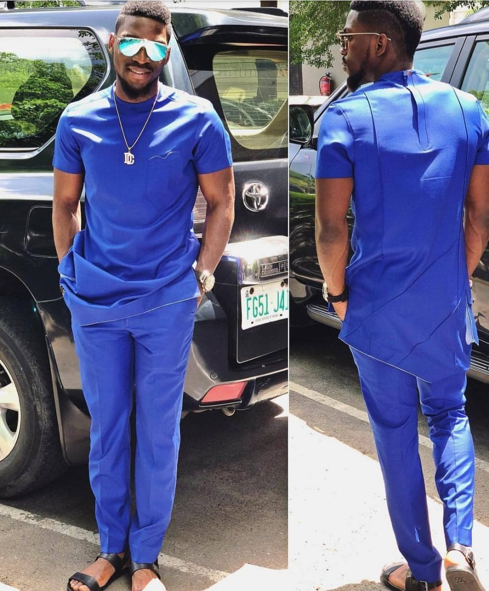 253cb4937 Unlike most Nigerian native styles for men, the Senator style is a simple  and minimalist outfit. It comprises of a long top or shirt ...