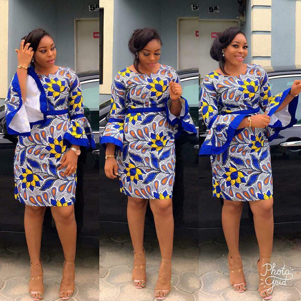 You too can rock your Ankara and look gorgeous like her