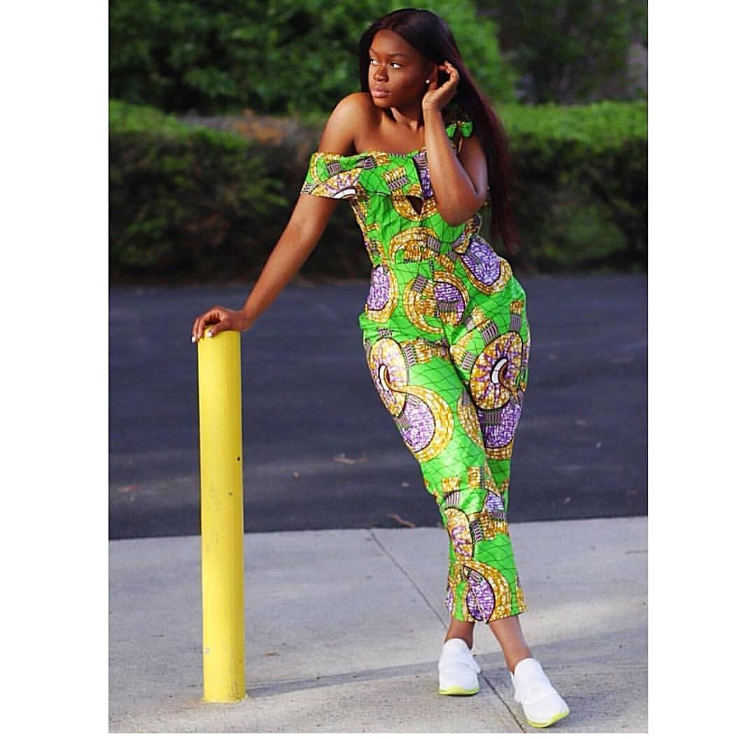 ankara styles of jumpsuit