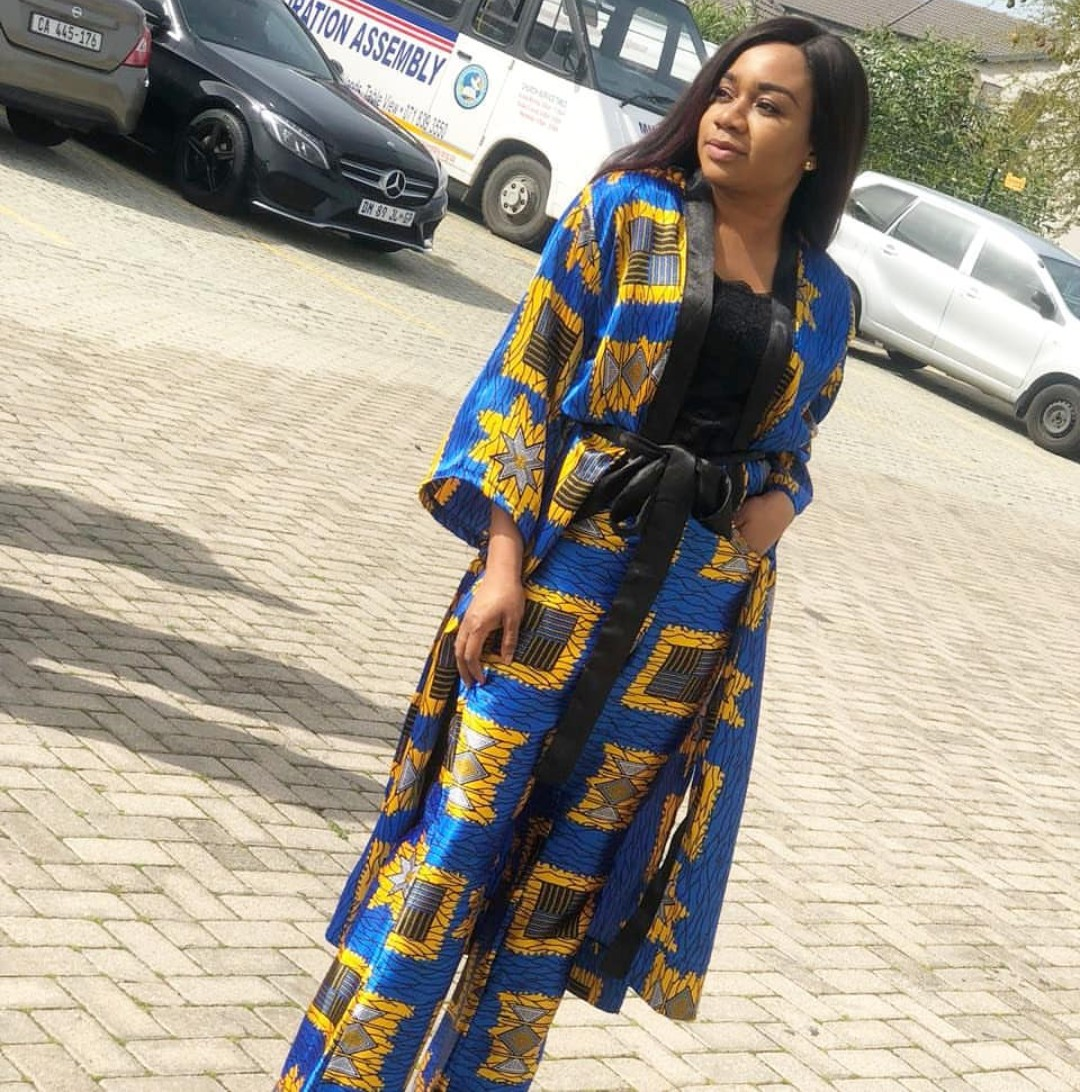 Ankara Dresses For Ladies (Kimono Ankara Jackets)
