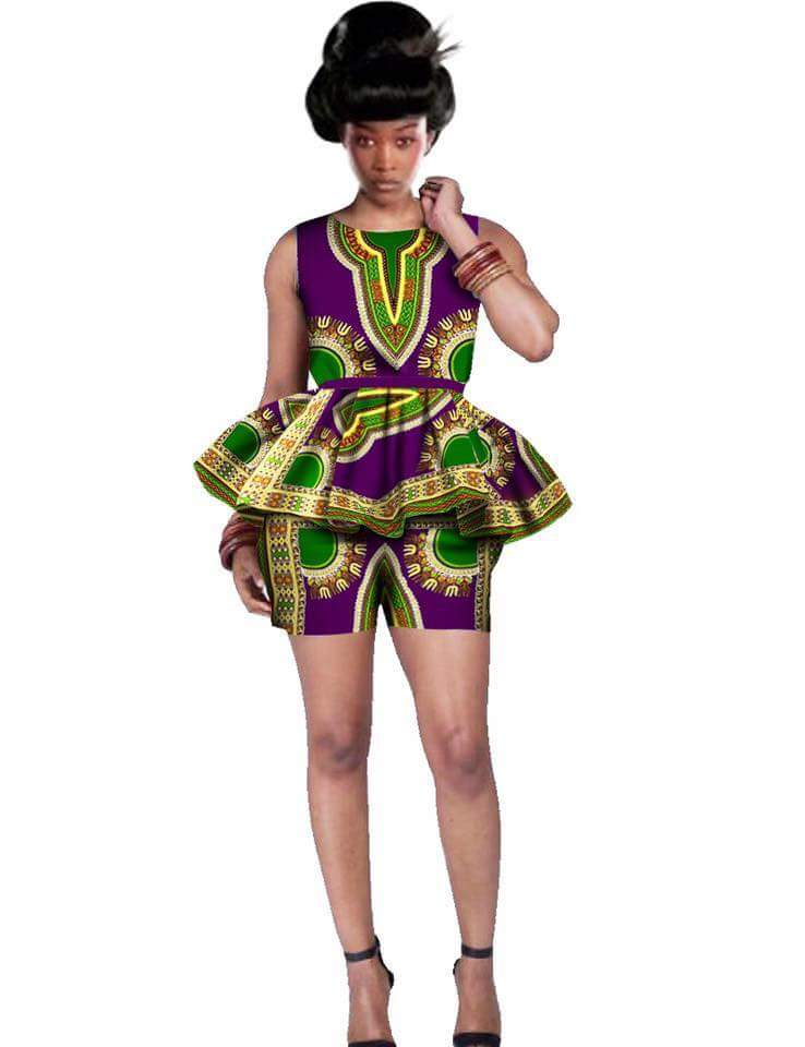 Latest Ankara Shorts Bum Shorts For Gorgeous Ladies
