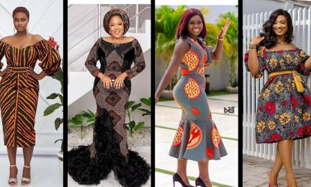 Ankara Gowns Designs In Nigeria