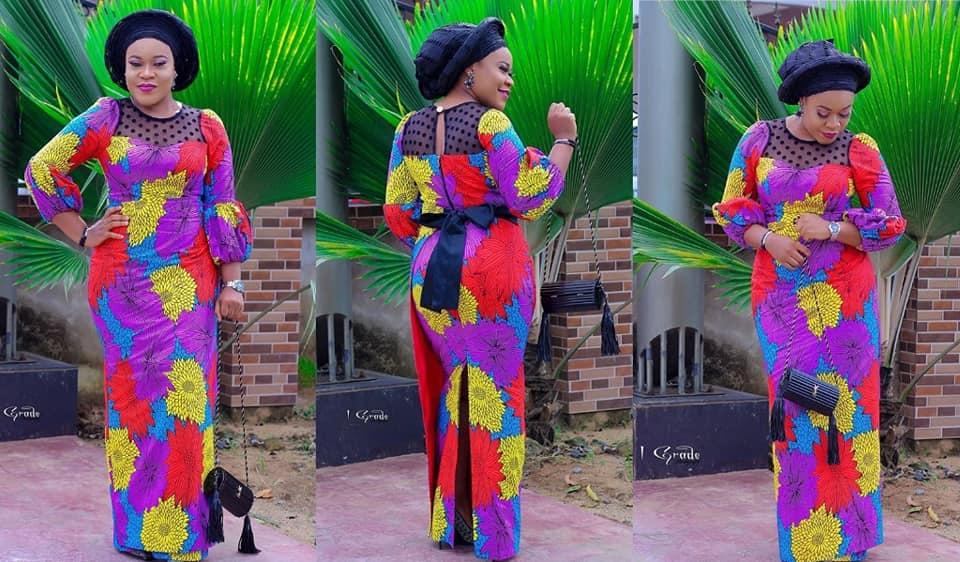 Latest Ankara Long Gown Styles