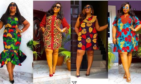 Get Chic In Ankara Gowns