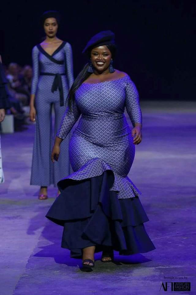 Ankara Designs For Chubby Ladies