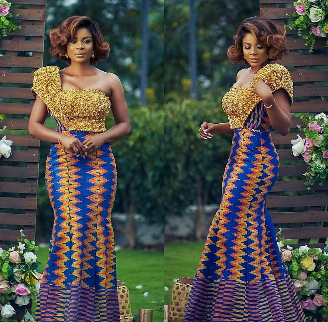 Styles Of Bride Gowns For Reception-ANKARA FASHION