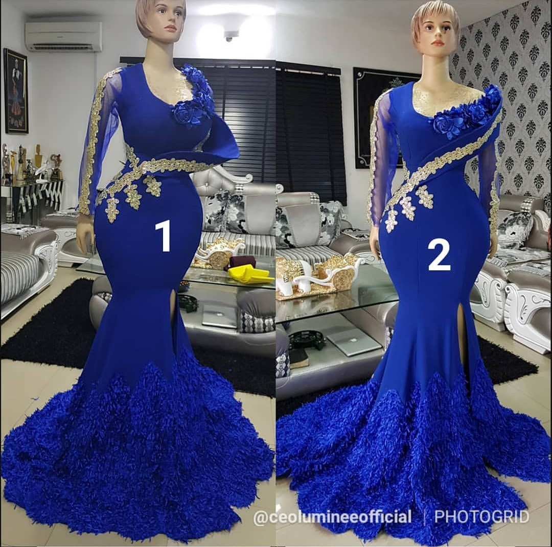 Latest Wedding Gowns In Nigeria: Styles Of Bride Gowns For Reception-ANKARA FASHION