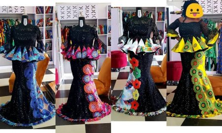 Latest Ankara Skirt And Blouse