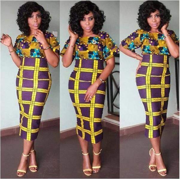 Mix and match Nigerian Ankara Dresses,