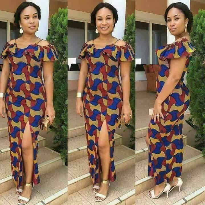 Nigeria Ankara Style of gown