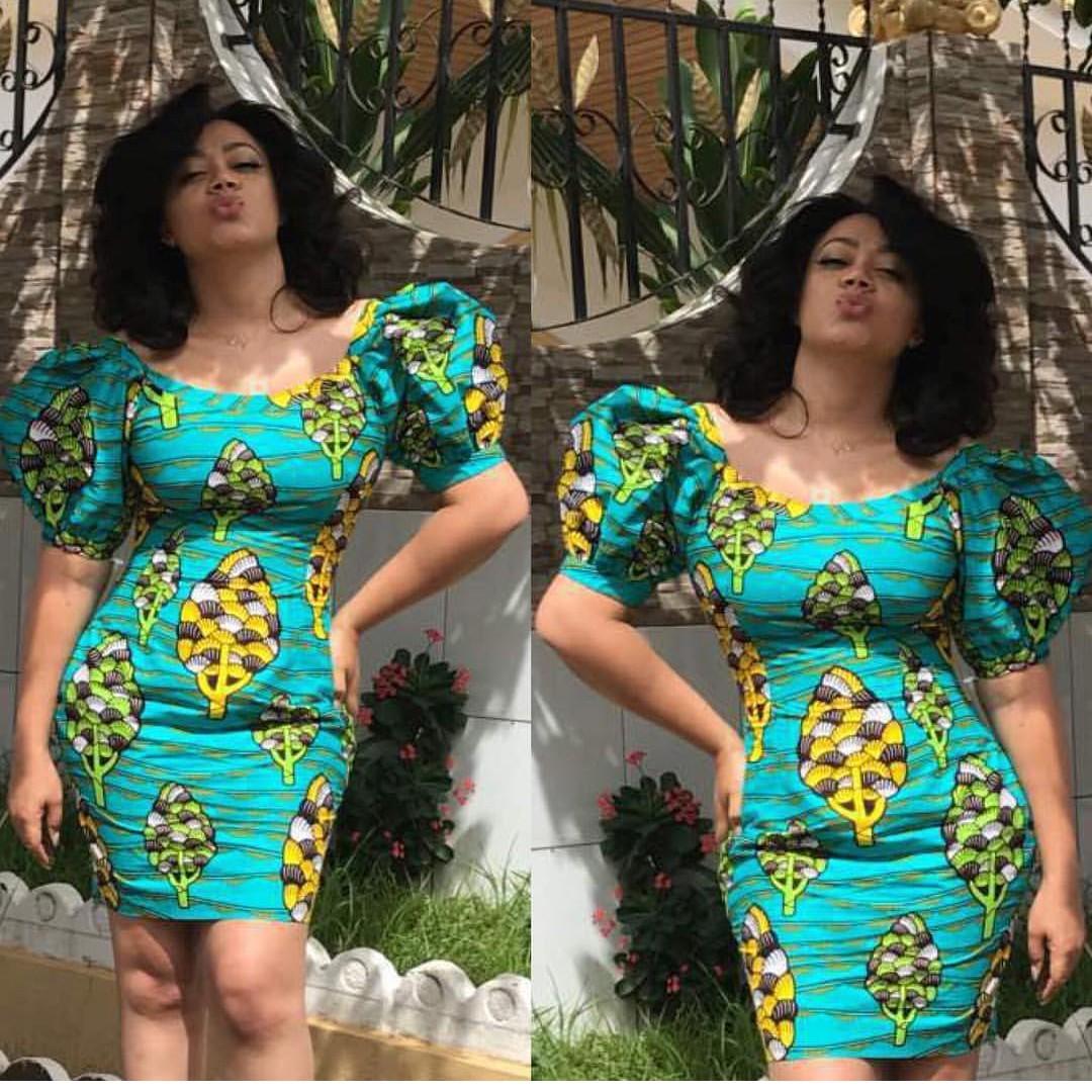 Nigerian Ankara Style of jumpsuit