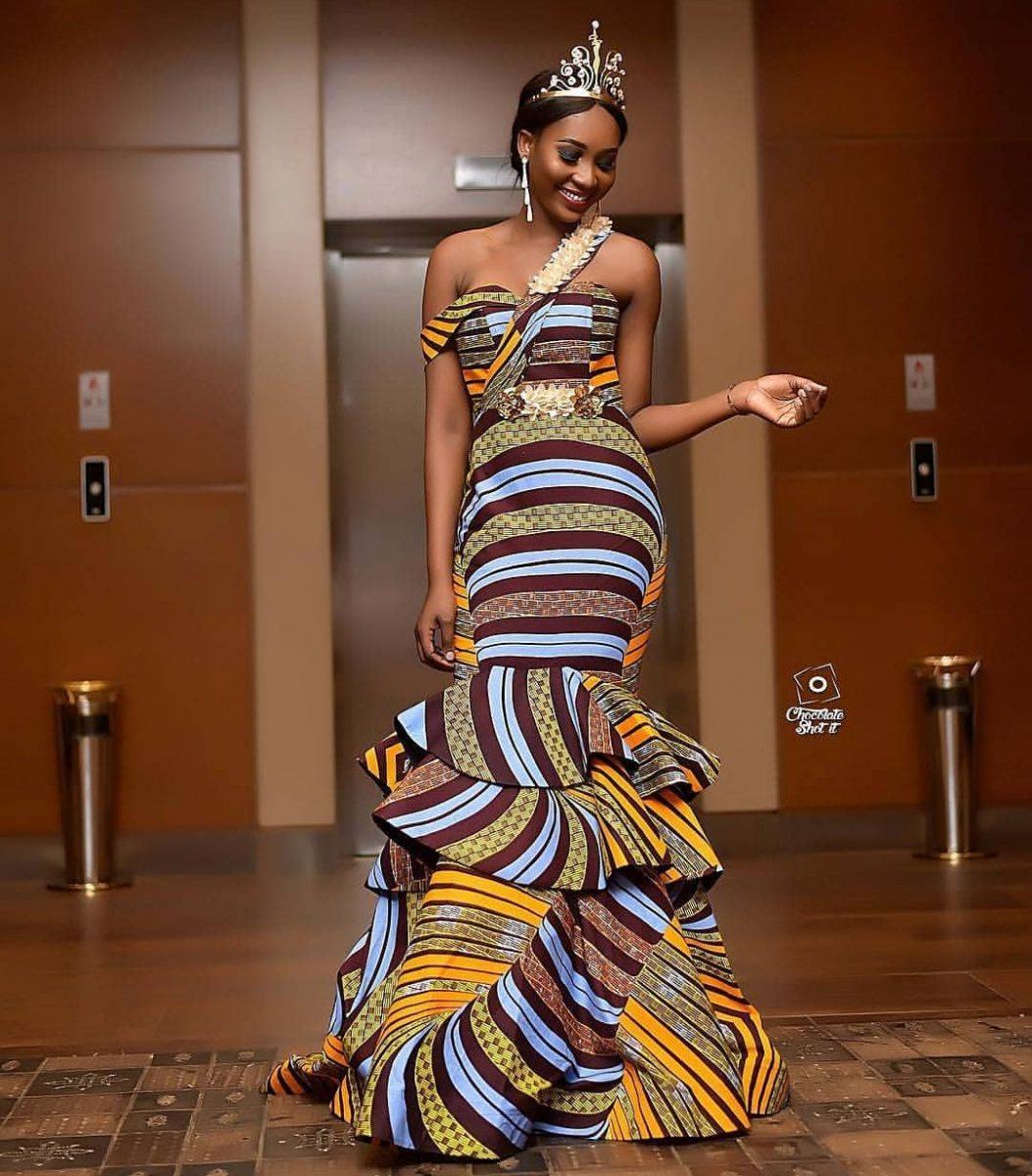 latest ankara gown styles