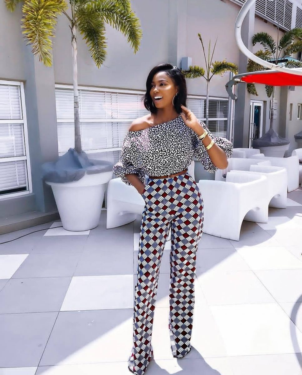 Mix And Match jumpsuit Style Of Ankara