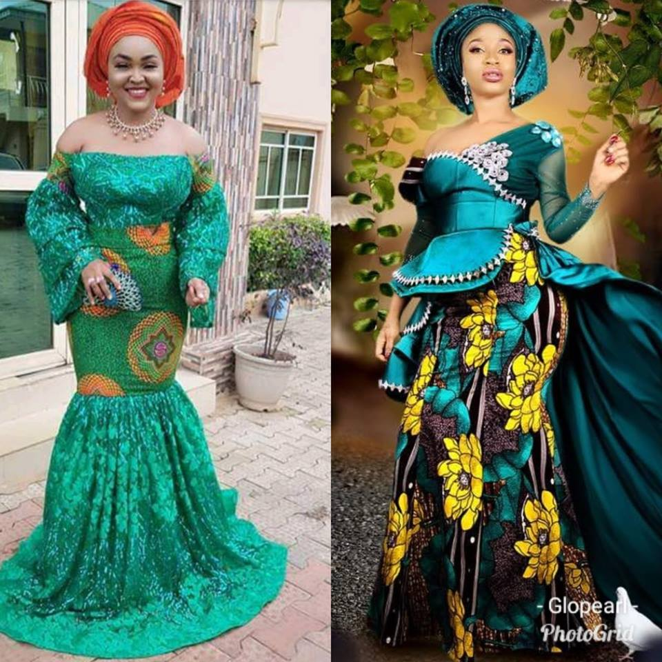 Beautiful Ankara Gowns For Wedding And Every Event 2018