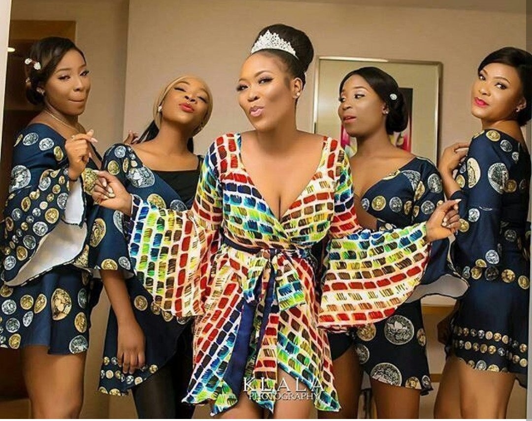 Ankara Gown Designs Of Long And Short Gowns 2018-2019