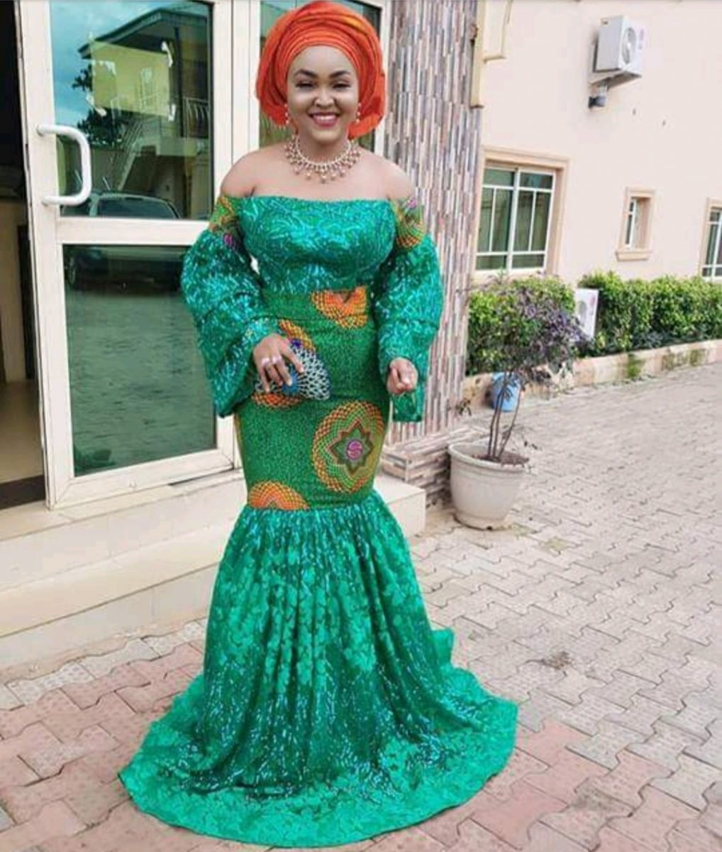 Hairstyle For Traditional Wedding: Latest Ankara Styles For Traditional Wedding-ANKARA FASHION