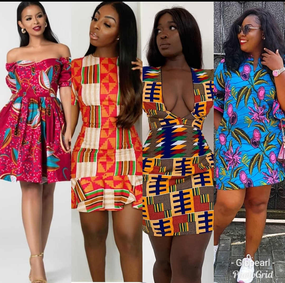 Hot Short Ankara Gown Designs To Rock This Season And Always