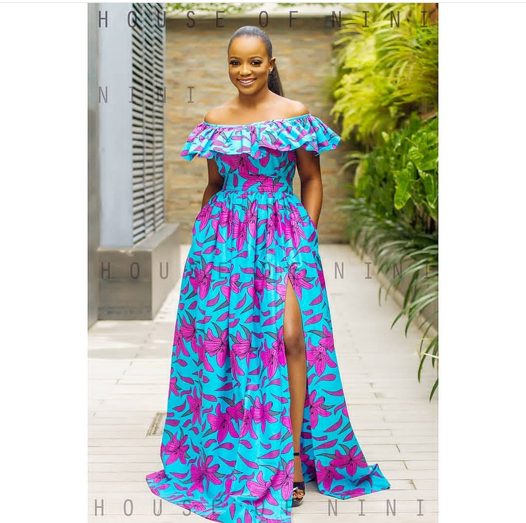 Latest Ankara Long Gown Styles 2018 Latest Ankara Styles