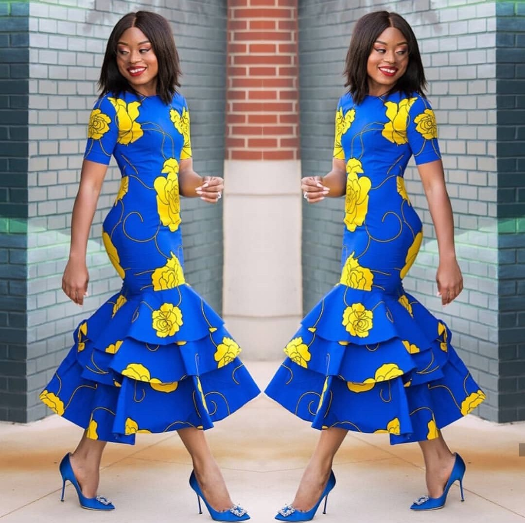 Top 20 Latest Ankara Styles Designs 2019: Beautiful Ankara Gowns For Wedding And Every Event 2018