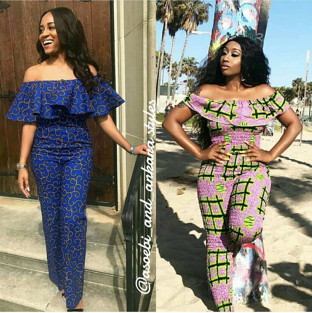 Latest Ankara Jumpsuit Collection