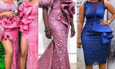 Lace Gowns Styles