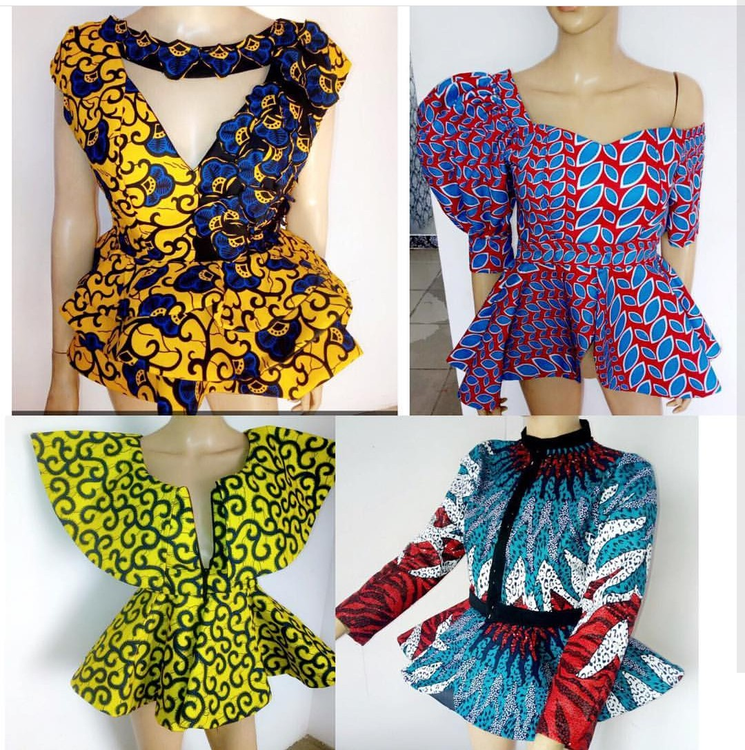 Ladies Blouses And Tops Designs