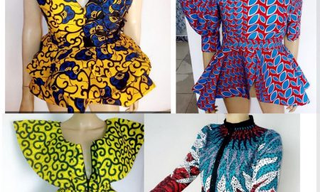 Latest Ankara Blouse Styles