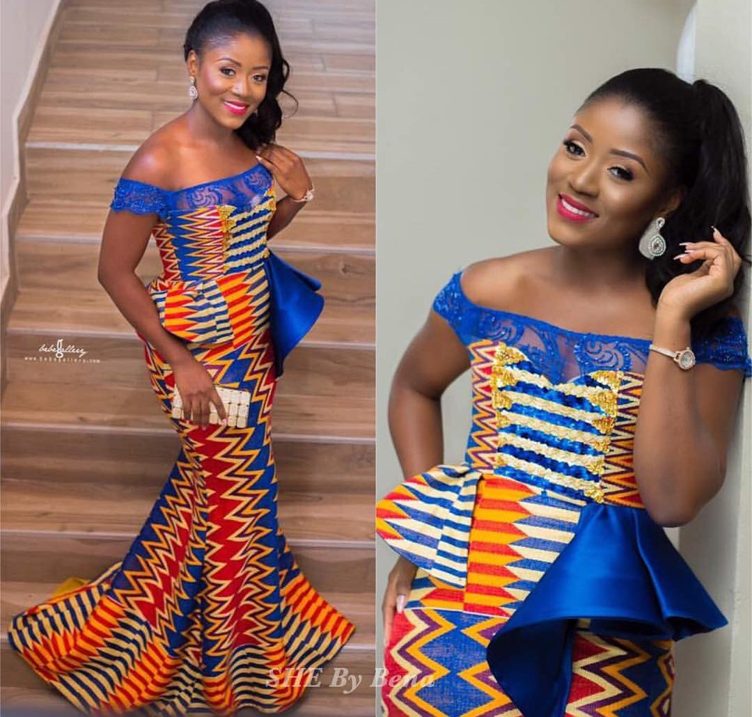 Kente Styles For Ghanaian Bride To Be 40 Beautiful Kente