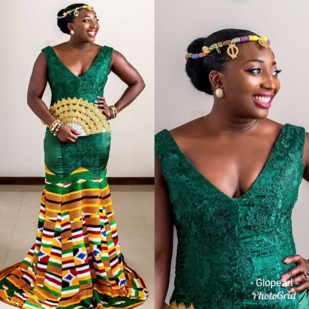 New Hairstyle For Wedding Ceremony: Kente Styles For Ghanaian Bride To Be-40 Beautiful Kente