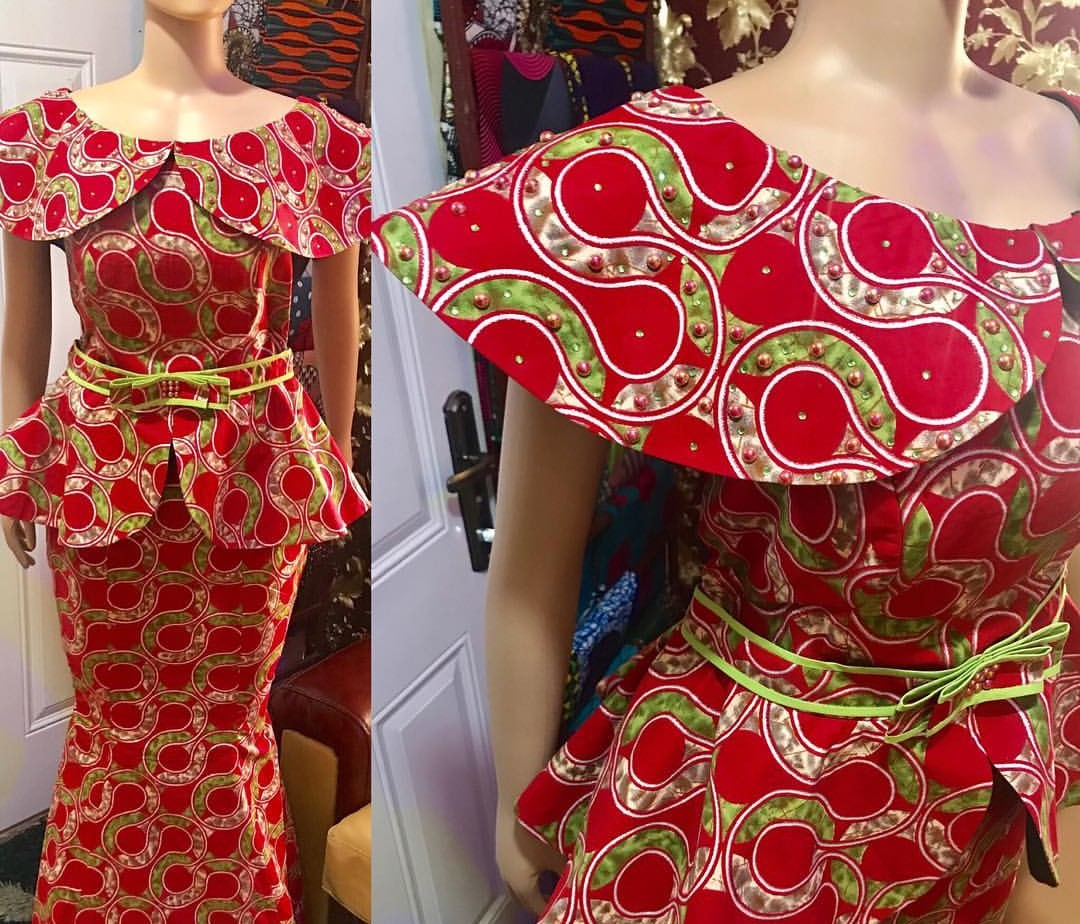 Classic Ankara Skirt And Blouse Styles For Fashionistas