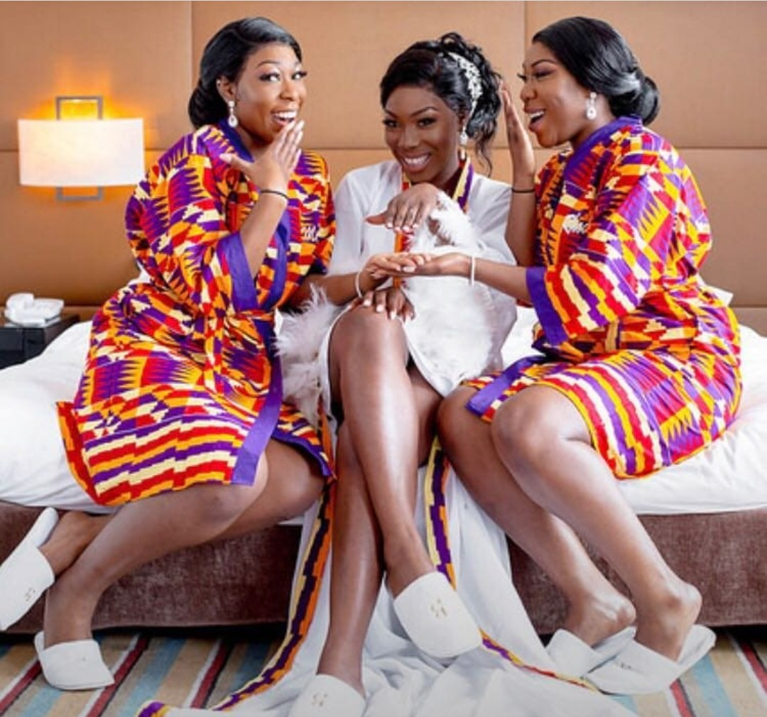 Why Do Brides Wear Garters On Their Wedding Day: Latest Ankara Robe Styles For Bridal Shower-We Have 20