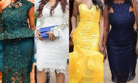 Current Short Lace Gown Styles