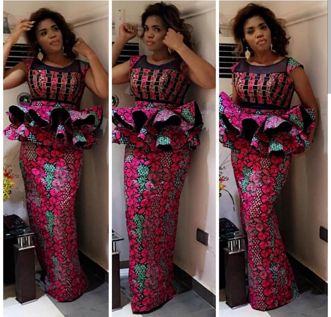 175795c5bab2f2 Hot Ankara Skirt & Blouse Styles For Your Next Owamba