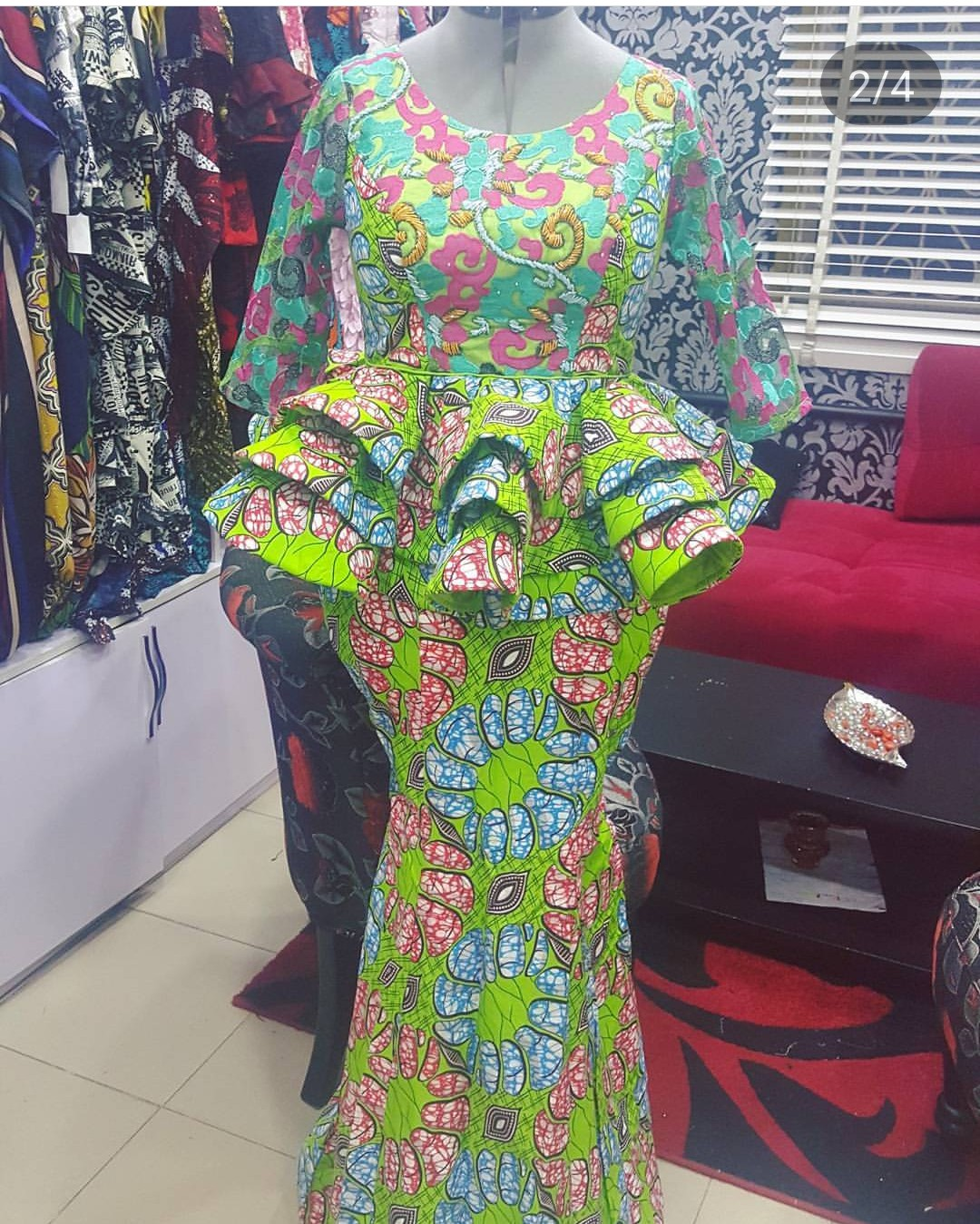 04c9312d10f214 ALSO SEE⇒Top 20 Lace Skirt And Blouse Styles For Owambe/Aso-ebi