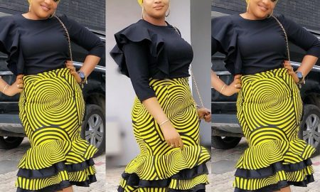 New Ankara Skirt Styles