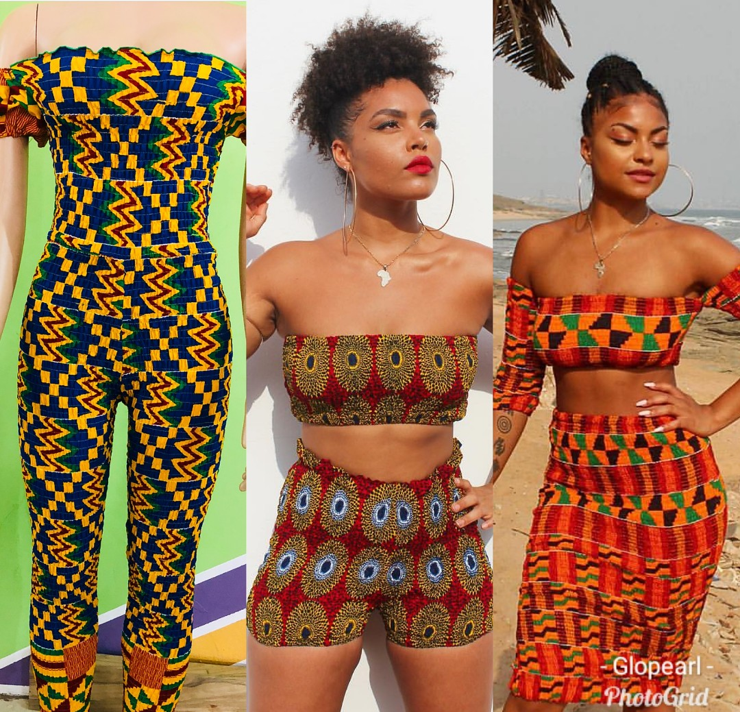 Ankara Elastic Dresses Styles