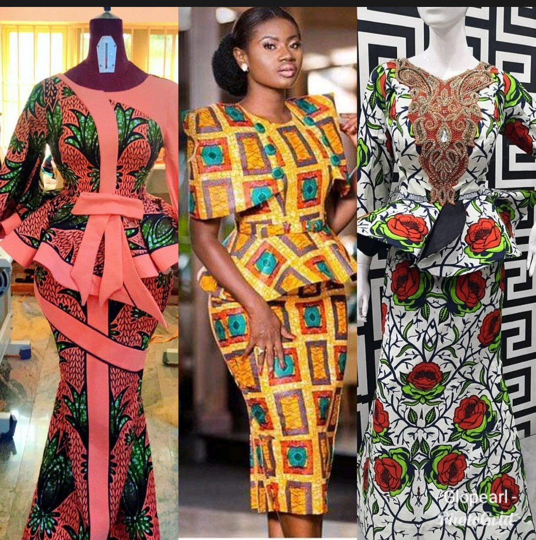 Top 30 Ankara Skirt & Blouse Styles