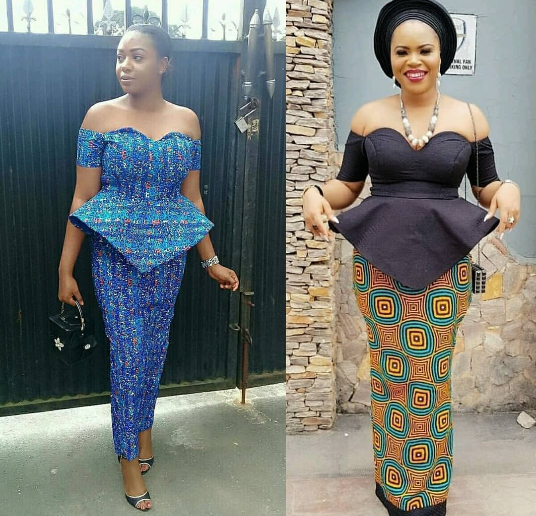 latest ankara skirt and top Promotions