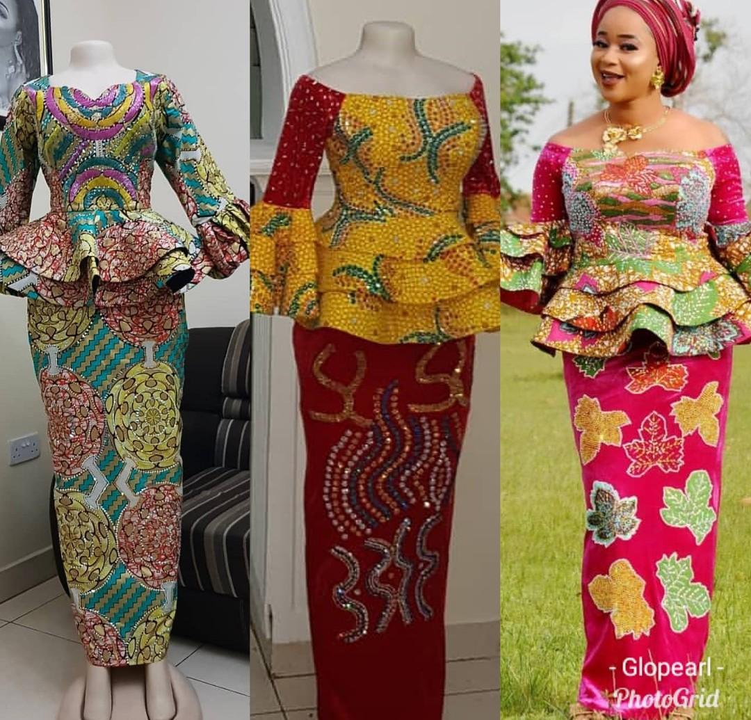 Fabulous Ankara Skirt & Blouse