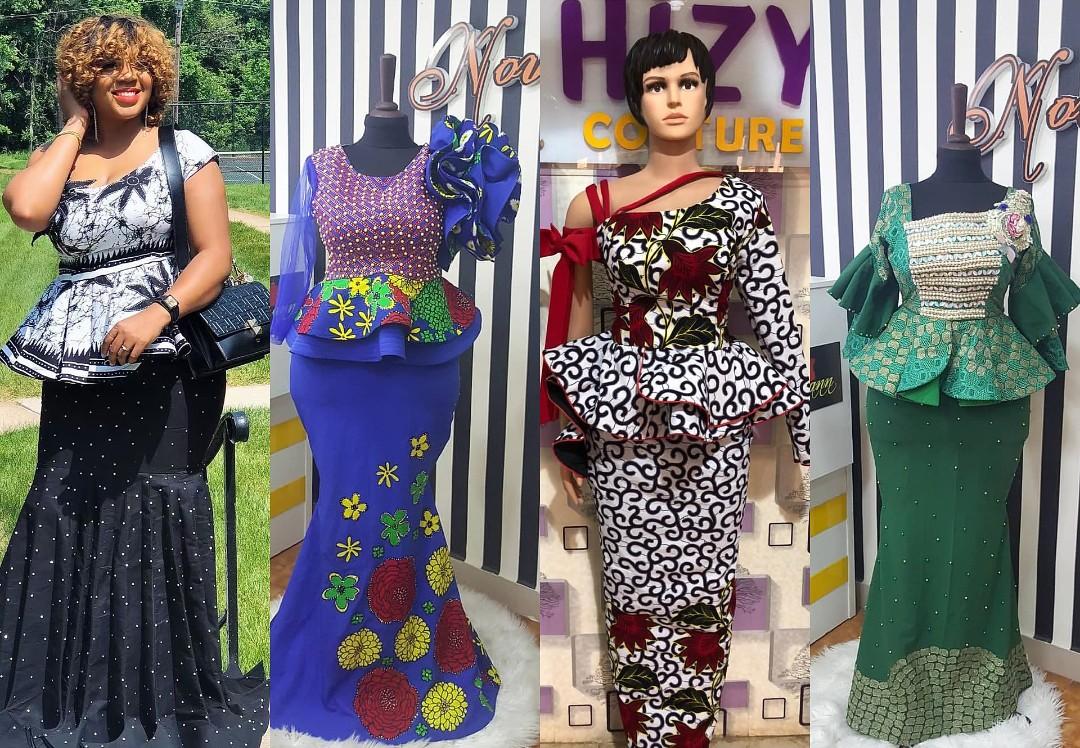 Tush Ankara Skirt & Blouse Designs