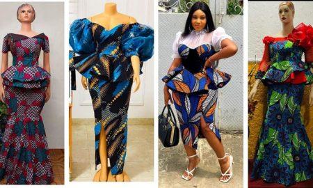 Super Stylish Ankara Skirt & Blouse