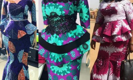 Tush Ankara Skirt & Blouse Designs