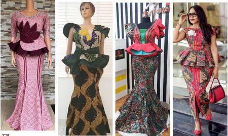 Ankara Skirt & Blouse Catalog