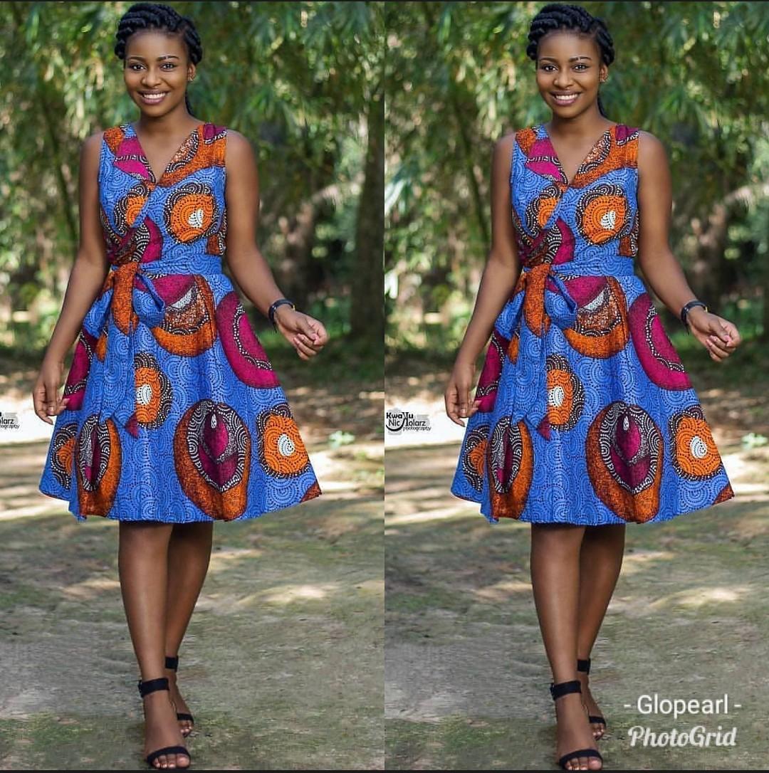 2019 Sexiest Ankara Styles For Gorgeous Ladies-70 Designs